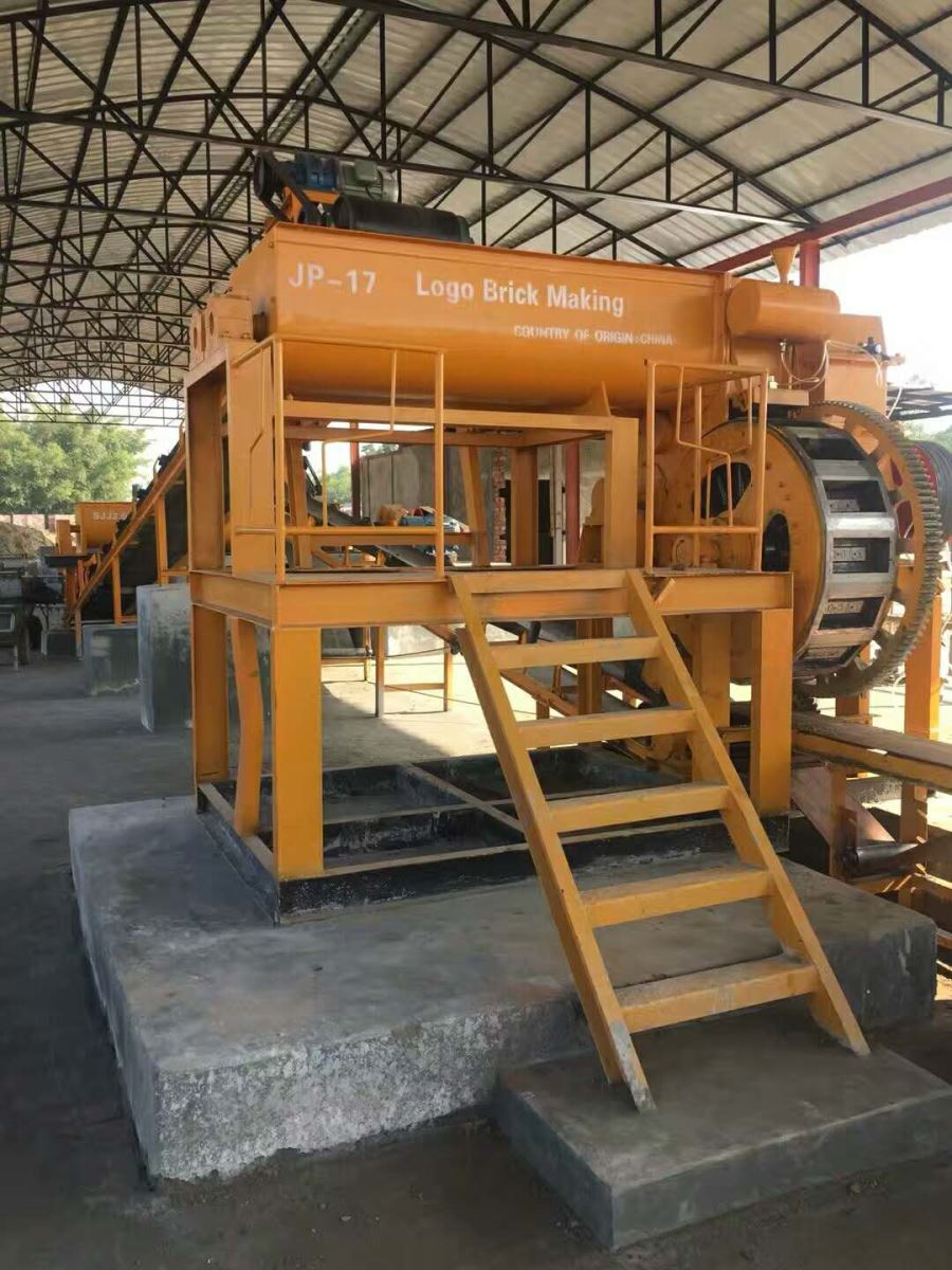 Logo Clay molding brick machine